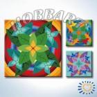 Мандала 005 Раскраска по номерам акриловыми красками на холсте Hobbart