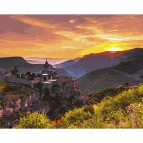 Монастырь Татев. Армения Раскраска картина по номерам на холсте