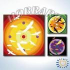 Мандала 013 Раскраска по номерам акриловыми красками на холсте Hobbart