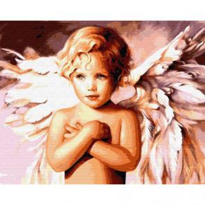 Обнаженный ангел Раскраска картина по номерам на холсте