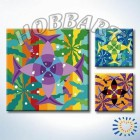 Мандала 020 Раскраска по номерам акриловыми красками на холсте Hobbart