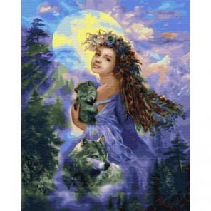Прекрасный мир Раскраска картина по номерам на холсте