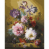 Фламандский букет Раскраска картина по номерам на холсте