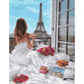 Маленькие прелести утра Раскраска картина по номерам на холсте
