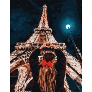 Я люблю Париж Раскраска картина по номерам на холсте