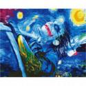Свобода Джокера Раскраска картина по номерам на холсте