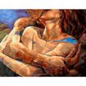 Тепло тел Раскраска картина по номерам на холсте