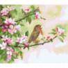 Весенние песни Раскраска картина по номерам на холсте