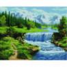 Летний водопад Алмазная мозаика вышивка Painting Diamond