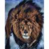 Суровые дни льва Алмазная мозаика вышивка Painting Diamond