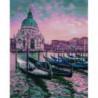Причал в Венеции Алмазная мозаика вышивка Painting Diamond