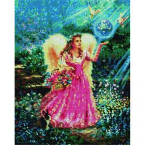 Ангел-хранитель Алмазная мозаика вышивка Painting Diamond