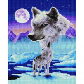 Тоскливый вой Алмазная мозаика вышивка Painting Diamond