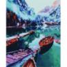 Горное озеро Алмазная мозаика вышивка Painting Diamond