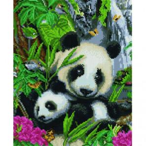 Панды в кустах Алмазная мозаика вышивка Painting Diamond