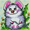 Скромный мышонок Алмазная мозаика вышивка Painting Diamond