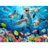Дельфиний восторг Super 3D пазлы с эффектом трехмерного объемного изображения