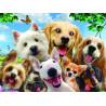 Собаки селфи Super 3D пазлы с эффектом трехмерного объемного изображения
