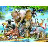 Веселая Африка Super 3D пазлы с эффектом трехмерного объемного изображения