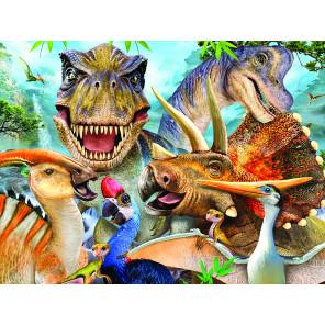 Динозавры селфи Super 3D пазлы с эффектом трехмерного объемного изображения 13604