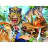 Динозавры селфи Super 3D пазлы с эффектом трехмерного объемного изображения