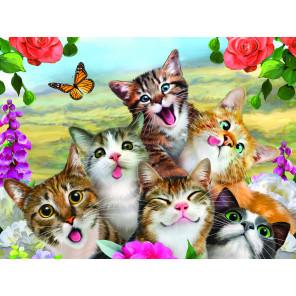 Кошки селфи Super 3D пазлы с эффектом трехмерного объемного изображения 13634