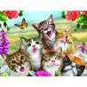 Кошки селфи Super 3D пазлы с эффектом трехмерного объемного изображения