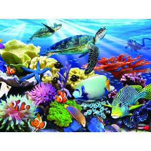 Жизнь на рифе Super 3D пазлы с эффектом трехмерного объемного изображения 13686
