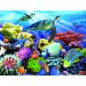 Жизнь на рифе Super 3D пазлы с эффектом трехмерного объемного изображения