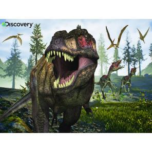 Тираннозавр Super 3D пазлы с эффектом трехмерного объемного изображения 13721