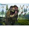 Тираннозавр Super 3D пазлы с эффектом трехмерного объемного изображения