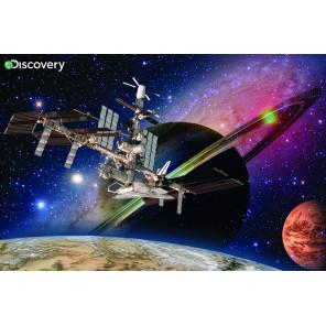 Космическая станция Super 3D пазлы с эффектом трехмерного объемного изображения 10825