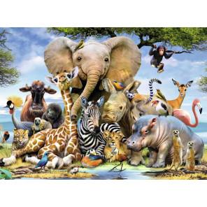 Улыбка Африки Super 3D пазлы с эффектом трехмерного объемного изображения 10873