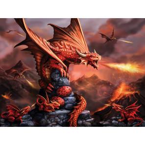Огненный дракон Super 3D пазлы с эффектом трехмерного объемного изображения 10090