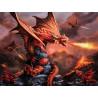 Огненный дракон Super 3D пазлы с эффектом трехмерного объемного изображения