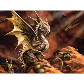 Внешний вид коробки Дракон пустыни Super 3D пазлы с эффектом трехмерного объемного изображения 10091