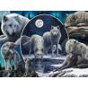 Волки Коллаж Super 3D пазлы с эффектом трехмерного объемного изображения
