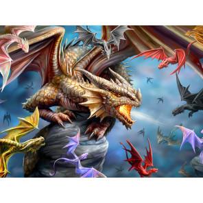 Внешний вид коробки Клан дракона Super 3D пазлы с эффектом трехмерного объемного изображения 10328