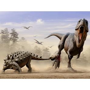 Дасплетозавр против эвоплоцефала Super 3D пазлы с эффектом трехмерного объемного изображения 10331