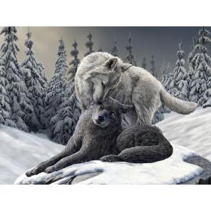 Волки Super 3D пазлы с эффектом трехмерного объемного изображения 10346