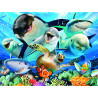 Селфи под водой Super 3D пазлы с эффектом трехмерного объемного изображения