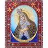Остробрамская Пресвятая Богородица Алмазная картина фигурными стразами