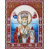 Святой Николай Чудотворец Алмазная картина фигурными стразами