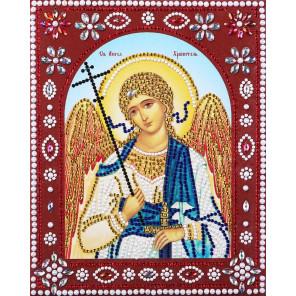 Святой Ангел Хранитель Алмазная картина фигурными стразами IF008