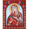 Владимирская Божия Матерь Алмазная картина фигурными стразами IF009