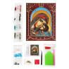 Состав набора Умиление Пресвятой Богородицы Алмазная картина фигурными стразами IF014