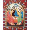Святая Троица Алмазная картина фигурными стразами