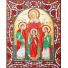 Вера, Надежда, Любовь и Мать их София Алмазная картина фигурными стразами