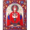 Образ Пресвятой Богородицы Неупиваемая Чаша Алмазная картина фигурными стразами