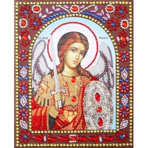 Святой Архангел Михаил Алмазная картина фигурными стразами IF012